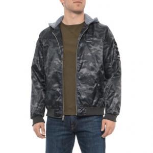 Flight Satin Twill Hooded Jacket - Insulated (For Men)
