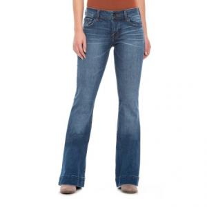 Decoy Lovestory Flare Bell-Bottom Jeans - Low Rise (For Women)