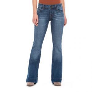 Decoy Lovestory Flare Bell-Bottom Jeans - Low Rise (For Women)