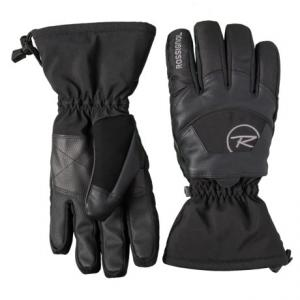 Soft Shell Embroidered Gloves - Waterproof, Insulated (For Men)
