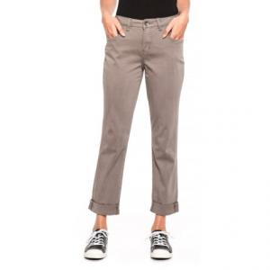 Brown Carter Girlfriend Pants (For Women)