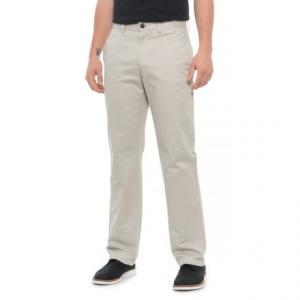 Flat Front No-Iron Twill Pants (For Men)