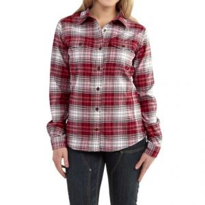 Hamilton Flannel Shirt - Long Sleeve, Factory Seconds (For Women)