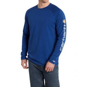 Carhartt Force(R) Delmont T-Shirt - Long Sleeve (For Men)