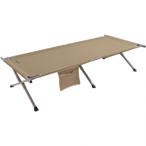 alps mountaineering camp cot - extra large- Save 42% Off - CLOSEOUTS . This comfortable, extra large ALPS Mountaineering camp cot helps you get your beauty sleep at camp or handle extra guests at the house. Powder-coated aluminum frame is reinforced with steel connectors and covered with polyester. Available Colors: KHAKI.