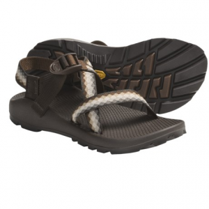 chaco z/1(r) unaweep sandals - vibram(r) outsole (for women)- Save 53% Off - CLOSEOUTS . Whether you're a waterbug or not, Chaco Z/1and#174; Unaweep sandals will hold your feet (and you) securely on wet terrain or dry. Polyester strapping wraps around foot and through midsole for allover fit with just one pull. Available Colors: ATLANTIS, SPARROW, MULTI RED, 05, CERAMIC BLUE, NUTMEG, AWNEST, FLORAL RED, CROSS STITCH, ASPIRE, CAMPFIRE, FIELDS, FLORAL ROW, BLACK W/BLACK/GREEN TREAD, BLACK W/BLACK TREAD, 16, 17, 18. Sizes: 5, 6, 7, 8, 9, 10, 11, 12.
