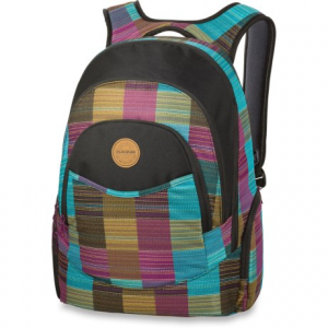 dakine prom 25l backpack (for women)- Save 45% Off - CLOSEOUTS . DaKine's Prom backpack takes you back to school in style. Its functional design features a laptop sleeve, interior organizer panel and insulated cooler pocket. Available Colors: AVENUE/TWILL, BLACK/LACE FLORAL, BLACK/ZULU, NAVY/VIVIENNE PALID, CHERRY, HOUNDSTOOTH, LUNA, TARTAN, LOLANI, SIERRA, HIGHLAND, KINZER, OPAL, SHEBA, TRINITY, DYLON, MERIDIAN, FINN, MEDALLION, BLUE FLOWERS, JADA, MINERAL BLUE, RGTTASTRPS, TAOS, PATCHWORK CAMO, FIESTA, LATTICE FLORAL, SANIBEL, TOUCAN, BLACK, CLAUDETTE, ELLIE, HARVEST, MOJAVE, FERN, FIRESIDE, HUCKLEBERRY, HULA, INVERSION, JACKALOPE, SPRADICAL, LIBBY, ELLIE II, LIZZIE, NEVADA, PIXIE, TILLYJANE, WALLFLOWER, WILDSIDE.