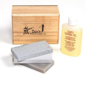 Image of Dan's Whetstone Soft/Hard/Translucent Arkansas Bench Stone Combination Set