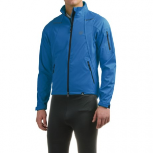 canari everest soft shell cycling jacket (for men)- Save 63% Off - CLOSEOUTS . You may not be riding to the top of the world, but why not look the part during training rides with the Canariand#39;s Everest cycling jacket? The stretch fabric is wind and water resistant, and a drawcord waist helps seal out cold air. Available Colors: KILLER YELLOW, BREAKAWAY BLUE, LAVA. Sizes: S, M, L, XL, 2XL.
