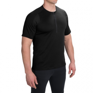 pearl izumi divide cycling jersey - zip neck, short sleeve (for men)- Save 53% Off - CLOSEOUTS . A lightweight and totally breathable top that thrives on hot temperatures and heart-pumping trail rides! Pearl Izumiand#39;s Divide cycling jersey features Transfer In-R-Cooland#174; technology that targets high-perspiration areas to provide the ultimate moisture-wicking, body-cooling experience. Available Colors: BLACK, BLACK/MANDARIN RED, RIFLE GREEN, BLACK/BLACK, DEEP INDIGO, MONUMENT GREY. Sizes: L, M, S, XL, 2XL.