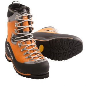 aku montagnard gore-tex(r) mountaineering boots - waterproof, insulated (for men)- Save 47% Off - CLOSEOUTS . AKUand#39;s Montagnard boots are designed for classic mountaineering on glaciers and icefalls. Boasting Gore-Texand#174; waterproof breathable protection, PrimaLoftand#174; ECO insulation and a Vibramand#174; rubber outsole, these rugged and reliable boots will help you reach new heights. Available Colors: ORANGE/BLACK. Sizes: 8.5, 9, 9.5, 10, 10.5, 11, 11.5, 12, 12.5, 13, 13.5, 8, 7.5.