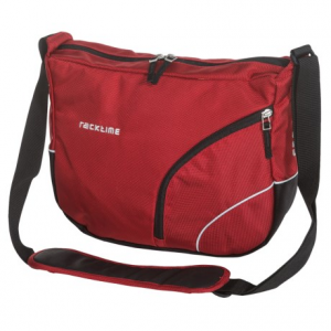 ortlieb racktime shoulderit front bike bag- Save 39% Off - CLOSEOUTS . The Ortlieb Racktime Shoulderit front bike bag attaches easily to your handlebars and carries comfortably as a compact shoulder bag when youand#39;ve reached your destination. Available Colors: BLACK, RACHEL RED, URBAN BROWN, URBAN GREY, BILL BLACK.