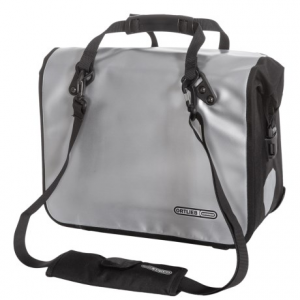 ortlieb classic ql2 bike office bag - large- Save 42% Off - CLOSEOUTS . A briefcase that fits securely on your rear rack, Ortlieband#39;s Classic QL2 bike office bag bag features a waterproof, roll-top closure and the Quick-Lock2 mounting system. Available Colors: SILVER/BLACK.