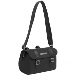 brooks england ltd. millbrook saddle bag - small- Save 41% Off - CLOSEOUTS . Originally released in the 1950s, the sturdy Brooks England LT.D Millbrook saddle bag has been a stylish staple for decades. Now modernized, the bag features clean lines, modern colors and waterproof canvas construction while retaining high-quality leather strap detailing and a spacious interior. Available Colors: GREEN/OLIVE, BLACK/BLACK.