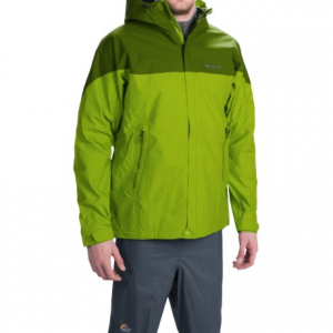 marmot quarry hooded jacket - waterproof (for men)- Save 40% Off - CLOSEOUTS . In a query over which jacket to choose for maximum waterproof breathable performance at a low weight? Weand#39;ve solved it for you: Go with Marmotand#39;s Quarry hooded jacket, designed with a two-layer NanoPro Membrainand#174; shell that moves moisture away from the body faster for maximum comfort during stop-and-go activities. Available Colors: BLACK, COBALT BLUE/BLUE NIGHT, GREEN LICHEN/GREENLAND. Sizes: S, M, L, XL, 2XL.