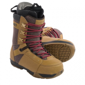 rome bodega snowboard boots (for men)- Save 55% Off - CLOSEOUTS . Rome Bodega snowboard boots are an all-mountain, everyday boot with smooth flex and durable construction. The Rad F.IT. liner features heat-moldable foam and Leverage Lacing offers excellent ankle hold. Available Colors: WHEAT, BLACK. Sizes: 9, 9.5, 10, 10.5, 11, 11.5, 12.