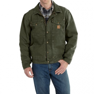 Image of Carhartt Berwick Sandstone Duck Jacket - Factory Seconds (For Big and Tall Men)