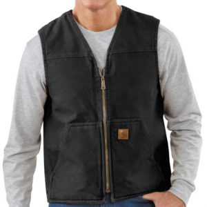 Image of Carhartt Sandstone Vest - Sherpa Lining, Factory Seconds (For Tall Men)