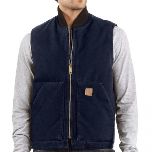 Image of Carhartt Sandstone Arctic Vest - Quilt Lined, Factory Seconds (For Big Men)