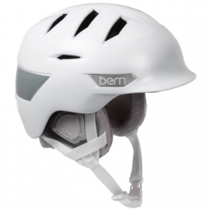 bern hepburn ski helmet (for women)- Save 63% Off - CLOSEOUTS . Whether itand#39;s a sunny, bluebird day on the slopes or blasting wind and snow, Bernand#39;s Hepburn ski helmet is designed to keep your comfort level dialed with a special internal slider that lets you easily open or close the primary vents. Available Colors: SATIN WHITE, SATIN TEAL. Sizes: XS/S, M/L.