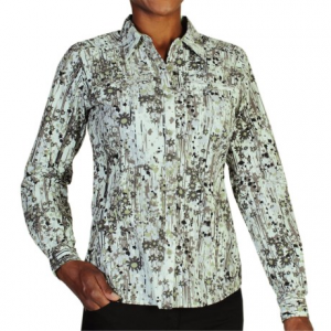 exofficio percorsa shirt - upf 30+, long sleeve (for women)- Save 64% Off - CLOSEOUTS . Unpredictable summer days call for ExOfficioand#39;s Percorsa shirt. From a patio brunch to a quick business meeting to an after-dinner stroll, it will keep you cool and comfortable thanks to ultralight nylon fabric, hidden rear vents and versatile roll-up sleeves. Available Colors: DUSK, BOTANIC. Sizes: XS, S, M, L, XL, 2XL, 3XL.