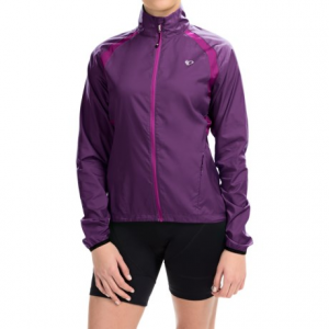 pearl izumi elite barrier cycling jacket (for women)- Save 44% Off - CLOSEOUTS . Rain showers on your ride? Youand#39;re covered in Pearl Izumiand#39;s ELITE Barrier cycling jacket. Highly breathable, water- and wind-resistant, this lightweight layer is totally packable when the sun pops out. Available Colors: DARK PURPLE, GUMDROP, CRIMSON, SCREAMING YELLOW, BLACK, WINEBERRY. Sizes: L, M, S, XL, XS, 2XL.
