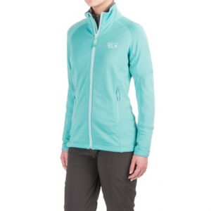 mountain hardwear desna grid fleece jacket - polartec(r) power dry(r) (for women)- Save 57% Off - CLOSEOUTS . Mountain Hardwearand#39;s Desna Grid jacket is a versatile fleece thatand#39;s ideal for mountain pursuits in cooler temps. Polartecand#174; Power Dryand#174; grid fleece keeps you warm and dry, and the hand pockets are waistbelt compatible. Available Colors: SHARK, DARK RASPBERRY, BLACK, SPRUCE BLUE. Sizes: XS, S, M, L, XL.