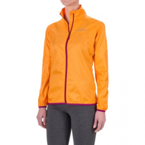 marmot trail wind jacket - water repellent (for women)- Save 50% Off - CLOSEOUTS . Light on weight but not on features, Marmotand#39;s Trail Wind jacket is your new best friend when youand#39;re seeking the next summit. The ripstop polyester shell is durable, breathable and water repellent, and the active venting panels keep you cool when the hike heats up. Available Colors: BLACK, ATOMIC BLUE, SILVER, SEA GLASS, LIPSTICK, BEET PURPLE, EMBERGLOW, GEMSTONE, HYPER YELLOW, ICE GREEN, MIDNIGHT PURPLE, SILVER, SWEET ORANGE. Sizes: XS, S, M, L, XL.