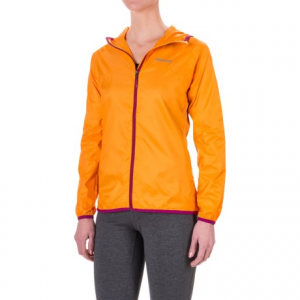 marmot trail wind hoodie jacket - water repellent (for women)- Save 52% Off - CLOSEOUTS . Light on weight but not on features, Marmotand#39;s Trail Wind hoodie jacket is your new best friend when youand#39;re seeking the next summit. The ripstop polyester shell is durable, breathable and water repellent, and the active venting panels keep you cool when the hike heats up. Available Colors: BLACK, ATOMIC BLUE, SILVER, SEA GLASS, LIPSTICK, MIDNIGHT PURPLE/FADED INK, SILVER/WHITE, ICE GREEN/GEM, CITRUS ICE, EMBERGLOW, SWEET ORANGE. Sizes: XS, S, M, L, XL.