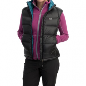 photo: Rab Women's Neutrino Vest down insulated jacket