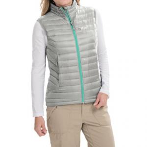photo: Rab Women's Microlight Vest down insulated vest