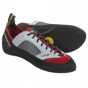 la sportiva nago climbing shoes (for men)- Save 39% Off - CLOSEOUTS . With a toes-flat, low-tension fit and a Vibramand#174; XS Edge outsole, La Sportiva Nago climbing shoes are an excellent choice for developing climbers seeking a balance of all-day comfort and reliable grip. Available Colors: RED. Sizes: 38, 38.5, 39, 39.5, 40, 40.5, 41, 41.5, 42, 42.5, 43, 43.5, 44, 44.5, 45, 45.5, 46, 47.5, 48, 46.5, 47, 34.5, 35.5, 37, 35, 33.5, 32, 33, 34, 36, 36.5, 37.5.