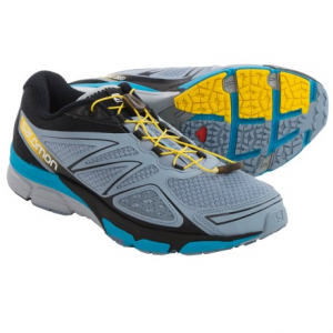 salomon x-scream 3d trail running shoes (for men)- Save 36% Off - CLOSEOUTS . Salomonand#39;s X-Scream 3D trail running shoes are nimble, all-around performers that deliver a durable, responsive ride on pavement and smooth dirt. The mesh upper features Endofit, an internal sleeve attached to the tongue that hugs the foot for improved response. Available Colors: STONE BLUE/BLACK/BOSS BLUE, GECKO GREEN/BRIGHT RED/BLACK, GREY DENIM/BLACK/FLOU YELLOW. Sizes: 7, 7.5, 8, 8.5, 9, 9.5, 10, 10.5, 11, 11.5, 12, 12.5, 13, 14.