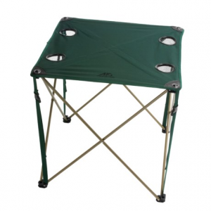 alps mountaineering folding chip table- Save 28% Off - CLOSEOUTS . The Alps Mountaineering folding chip table sets up in a flash and is perfect for camping trips, RVing, picnics, tailgating and more. Available Colors: GREEN, STEEL BLUE.
