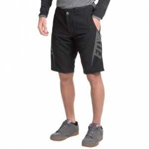 fox racing livewire cycling shorts (for men)- Save 30% Off - CLOSEOUTS . During multi-hour freeride missions and intense cross-country races, Fox Racing Livewire shorts are your perfect riding partner. The detachable liner with Fox Evo chamois delivers comfort in the saddle. Available Colors: BLACK CAMO, BLACK CHARCOAL.