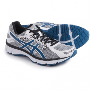 asics gel-excite 3 running shoes (for men)- Save 28% Off - CLOSEOUTS . ASICS GEL-Excite 3 running shoes add a little excitement to your fitness routine. The mesh upper helps feet stay cool, and Rearfoot GELand#174; Cushioning provides comfort in the gym and on the road. Available Colors: BLACK/SILVER/BLUE, BLUE/BLACK/ORANGE, INK/SILVER/FLASH YELLOW, SILVER/BLACK/RED, WHITE/SNORKEL BLUE/BLACK, CARBON/BLACK/WHITE, 03. Sizes: 6, 6.5, 7, 7.5, 8, 8.5, 9, 9.5, 10, 10.5, 11, 11.5, 12, 12.5, 13, 14, 15, 5, 5.5.