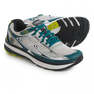 topo athletic magnifly running shoes (for men)- Save 45% Off - CLOSEOUTS . Ready to fly through your next run? Give the Topo Athletic Magnifly running shoes a try. A snug fit at the heel gives way to a roomy toe box, two factors that allow your foot to move naturally through its gait and create the shoeand#39;s low profile. And a flexible dual-density midsole contains EVA that rebounds and propels you into the next stride -- and the next mile. Available Colors: BLACK/RED, GREY/SILVER, BLACK/LIME. Sizes: 8, 8.5, 9, 9.5, 10, 10.5, 11, 11.5, 12, 6, 6.5, 7, 7.5, 13.