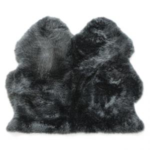 Image of Auskin Longwool Sheepskin Double Pelt Rug - 3x3?
