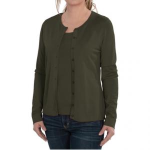 Image of August Silk Cardigan Sweater - Silk Blend (For Women)