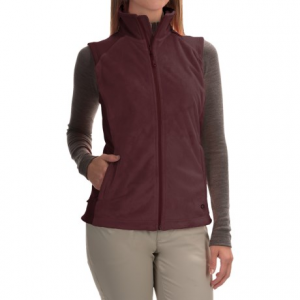 mountain hardwear pyxis stretch fleece vest (for women)- Save 56% Off - CLOSEOUTS .   Its material is called Luscious Fleece, but andquot;plushandquot; might be a better word to describe the Mountain Hardwear Pyxis Stretch fleece vest. Pure, fuzzy fleece dominates this warm jacket, and stretch fleece side panels help enhance range of motion when you head out on the trail. Available Colors: CORALESCENT, BLACK, WHITE/STEAM, PURPLE PLUM. Sizes: S, M, L, XS, XL.
