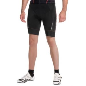 gore bike wear oxygen 2.0 cycling shorts (for men)- Save 46% Off - CLOSEOUTS . Equally comfortable at mile 1 and mile 100, the Gore Bike Wear Oxygen 2.0 cycling shorts take what the road dishes out so you can focus on pedaling. The triple-density Oxygen Men seat pad has six points of comfort, including extra padding in back to help the pelvis rotate through the pedaling motion, and itand#39;s made with technical fibers that release moisture to reduce chafing. Available Colors: BLACK, BLACK/WHITE, BLACK/RED. Sizes: S, M, XL, 2XL, L.