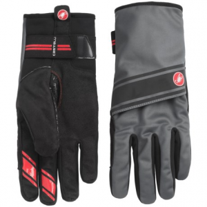 castelli 4.3.1 polartec(r) bike gloves (for men)- Save 55% Off - CLOSEOUTS . Castelliand#39;s 4.3.1 bike gloves are a convertible lobster glove lined with Polartecand#174; fleece thatand#39;s suitable for a range of conditions. Pull the waterproof cover over your fingers to turn it into a mitten, or leave your index finger free for improved dexterity. Available Colors: BLACK/TURBULENCE. Sizes: S, M, L, XL, 2XL, XS.
