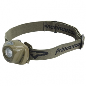 princeton tec eos led headlamp - 70 lumens- Save 44% Off - 2NDS . Princeton Tec's EOS headlamp provides durable, weather-resistant, lightweight and multi-functional lighting with a MaxBright LED light that has three brightness levels as well as a blinking mode. Available Colors: BLACK, ORANGE/GREY, OLIVE/RED, BLUE, ORANGE, OLIVE DRAB.