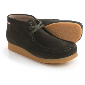 Image of Clarks Stinson Hi Chukka Boots - Leather (For Men)