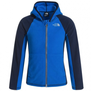 Image of The North Face Glacier Fleece Jacket - Attached Hood (For Toddler Girls)
