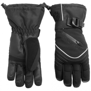 boulder gear whiteout gloves - waterproof, insulated (for women)- Save 50% Off - CLOSEOUTS . An all-purpose glove that keeps hands warm and dry all winter long, Boulder Gear Whiteout gloves feature a waterproof breathable insert and 40g Fiberloft insulation. Available Colors: BLACK. Sizes: XS, S, M, L, XL.