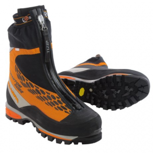scarpa phantom guide mountaineering boots - waterproof, insulated (for men)- Save 36% Off - CLOSEOUTS . Built for ice climbing and vertical mixed climbing, Scarpa Phantom Guide mountaineering boots excel in frigid conditions without weighing you down. The single boot design features a permanently attached gaiter, PrimaLoftand#174; insulation and a fit that accommodates wider feet. Available Colors: ORANGE. Sizes: 41, 41.5, 42, 42.5, 43, 43.5, 44, 44.5, 45, 45.5, 46, 46.5, 47, 40, 40.5, 48, 38, 38.5, 39, 39.5.