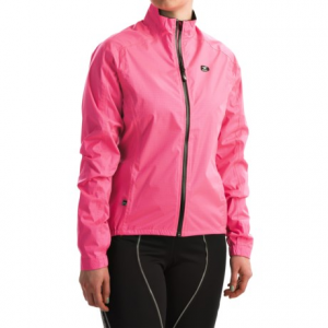 sugoi zap full-zip cycling jacket - waterproof (for women)- Save 46% Off - CLOSEOUTS . Sometimes the road calls even when the skies are drizzly or dark. So suit up in Sugoiand#39;s Zap full-zip cycling jacket, engineered with revolutionary Pixel Woven fabric for outstanding visibility in poor light conditions. Waterproof construction, with extra length in the sleeves and rear hem, blocks out moisture to keep you dry. Available Colors: BOYSENBERRY, SUPER PINK. Sizes: XS, S, M, L, XL.