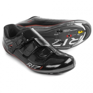 shimano sh-r171 road cycling shoes - 3-hole (for men and women)- Save 40% Off - CLOSEOUTS . Pure pedaling performance in a cycling shoe comes from a combination of flexibility up top and rigidity on the bottom, which youand#39;ll find in the Shimano SH-R171 road cycling shoes. The carbon fiber composite outsole combines with a dual-density heel cup for optimal power transfer from your legs to the pedals, and a surround upper design with dual straps relieves the pressure on your foot so you can focus on riding fast. Available Colors: BLACK, WHITE. Sizes: 40, 41, 42, 42.5, 43, 43.5, 44, 44.5, 45, 45.5, 46, 46.5, 47, 48, 49, 38, 39, 40.5, 41.5.