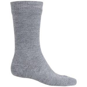 sealskinz waterproof hiking socks - crew (for men and women)- Save 54% Off - CLOSEOUTS . A waterproof hydrophilic membrane makes these Sealskinz hiking socks completely waterproof, and StretchDry technology makes them stretchy and breathable, too -- a must-have for keeping your feet warm and dry on soggy adventures. Available Colors: GREY, GREEN. Sizes: S, M, L, XL.